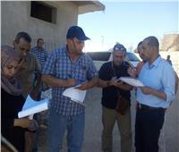 لجنة استرداد أراضي الدولة تصل رأس غارب