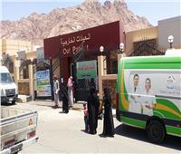 بالصور| قافلة الأزهر  تختتم أعمالها بعد إجراء 90  جراحة بجنوب سيناء
