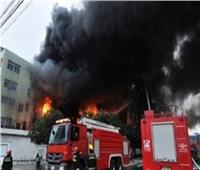 إخماد حريق في مستشفى الأمراض النفسية بالعباسية