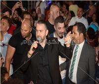 صور| «دبكة وشعبي مصري» في ثالث ليالي «طابا هايتس»