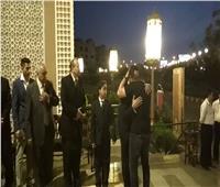 لحظة وصول «أحمد السقا» عزاء «سيف العمارى» .. فيديو