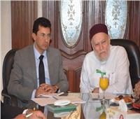 أشرف صبحي يبحث نتائج حملة «قيم وحياة» مع علي جمعة