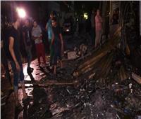 النيابة: ماس كهربائي سبب حريق الموسكي وخسائر بـ2 مليون جنيه