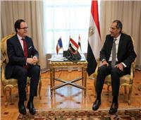 وزير الاتصالات يبحث مع السفير الفرنسي التعاون بين مصر وفرنسا