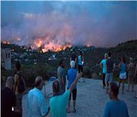 استمرار البحث عن ناجين من حريق غابات اليونان