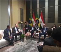 شريف إسماعيل يلتقي وزير خارجية البرازيل على هامش قمة «بريكس»