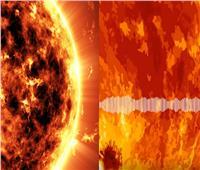استمع| «صوت الشمس» في مقطع فيديو لـ «ناسا»