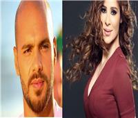 كارول سماحة وجوزيف عطية في حفل انتخاب ملك جمال لبنان