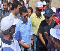 وزير الرياضة يشهد المهرجان الرياضي للجميع بالنادي النموذجي بإمبابة