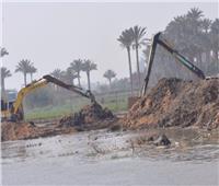 إزالة 12 حالة تعدٍ على نهر النيل بالأقصر