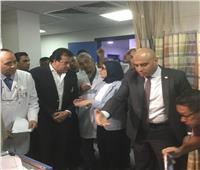 وزيرا الصحة والتعليم العالي يتفقدان مرضى معهد القلب