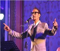 صور| رابح صقر يُطرب جمهوره في القاهرة