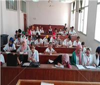 «آداب المنوفية» تستقبل طلاب جامعة الطفل اليوم