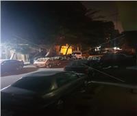 صور| الظلام يخيم على شارع بن خلدون
