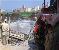 حملات مكثفة للقضاء على التعديات والبناء المخالف بدمنهور