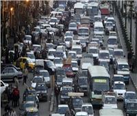 توقف حركة المرور بالدقي وشارع البطل بسبب تفحم سيارتين