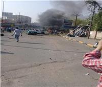 التعليق الأول للسفارة الأمريكية على اشتعال النار بسيارتين في الدقي