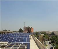تشغيل مبنى قطاع مياه النيل بالطاقة الشمسية