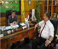 قراران جمهوريان بتعيين عميدين جديدين بجامعة المنيا