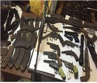ضبط مصنع للأسلحة النارية في الشرقية
