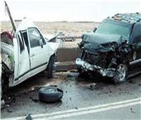 مصرع شخص فى حادث تصادم سيارتينبطريق القاهرة الإسكندرية الصحراوي