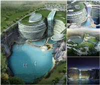 صور| «غرائب كوكب الصين».. تعرف على مكان هذا الفندق