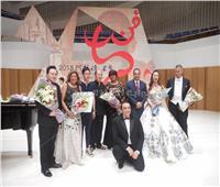 صور| نجوم أوبرا القاهرة يعودون لمصر بعد المشاركة في مهرجان الفنون بالصين