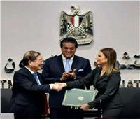 """مصر والصين توقعان منحة لتنفيذ القمر الصناعي """"مصر سات 2"""""""