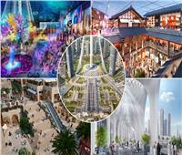 «مول دبي الجديد» رفاهية عالمية بتكلفة 2 مليار جنيه |صور