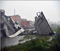 أول فيديو لانهيار «جسر جنوا» الإيطالية .. وسقوط العشرات من القتلى