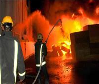 حريق هائل في قطعة أرض بالإسكندرية دون إصابات