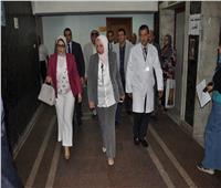 وزيرة الصحة: تدريب أطباء مستشفى مدينة نصر بمركز غنيم للكلى ووادي النيل
