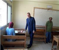 صور  رئيس جامعة الأزهر يتفقد لجان الدور الثاني بالثانوية الأزهرية