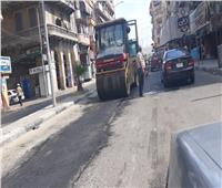 بدء رصف شارع محمد علي بعد تجديد شبكة مياه الشرب