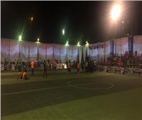 فيديو وصور| انطلاق فعاليات دوري «مستقبل وطن» بحي الأسمرات