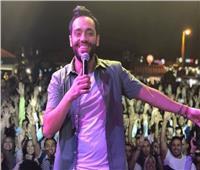بالصور والفيديو| رامي جمال يحتفل بألبوم «ليالينا» في «ديستركت»