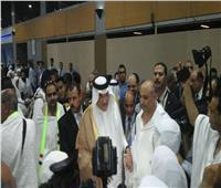 السفير السعودي يودع أسر الشهداء بالمطار
