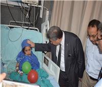 رئيس جامعة بنها يطمئن على استعدادات العيد بالمستشفى الجامعي