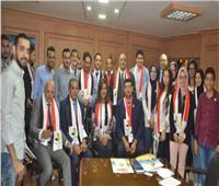 وزيرة الهجرة تستقبل وفدا من الجالية المصرية بأوكرانيا