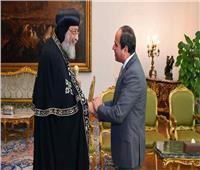 البابا تواضروس يهنئ الرئيس السيسي بعيد الأضحى