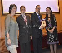 صور| هشام فرج رئيسا فخريا لجمعية أبناء فناني مصر