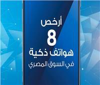 فيديو جراف| أرخص 8 هواتف ذكية في السوق المصري
