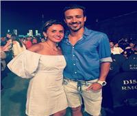أحمد داود يهنئ زوجته علا رشدي بعيد ميلادها