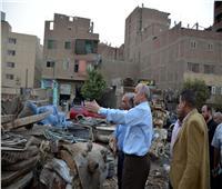 محافظ القليوبية يتابع أعمال رفع 8 آلاف طن قمامة بمدينة الخصوص