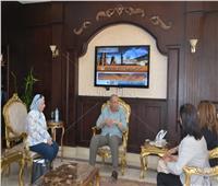 محافظ البحر الاحمر يلتقى بأعضاء لجنة الصحة لمراقبة بنوك الدم