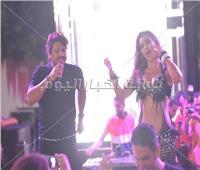 صور| جوهرة والاكوشنير يرقصان على أنغام مصطفى حجاج والليثي في حفل الساحل