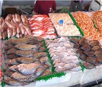استقرار «أسعار الأسماك» في سوق العبور اليوم