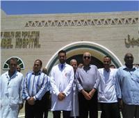 محافظ أسوان يتفقد المواقع الخدمية بمدينة أبو سمبل السياحية