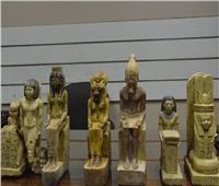 ضبط شخص بحوزته 35 قطعة أثرية في أسيوط
