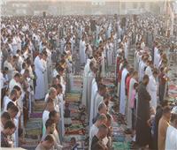 مئات الآلاف يؤدون صلاة العيد في 160 ساحة بالفيوم